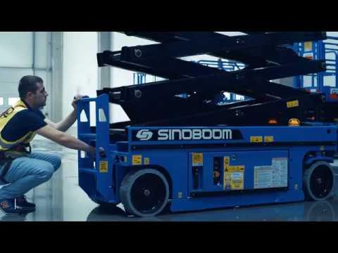 SCISSOR LIFT / SINOBOOM 2632