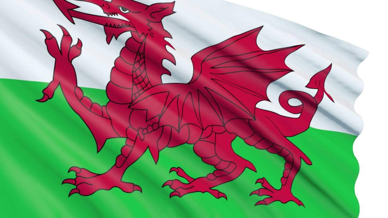 Bandera 3D animada gratis - Gales - Wales - Cymru - YouTube