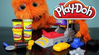 Transformers Play Doh Autobot Workshop Playset Video Review // Fuzzy Puppet