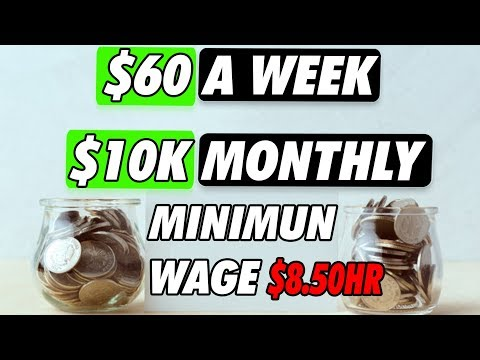 How to Save Money on Budget on Low Income   Minimum Wage