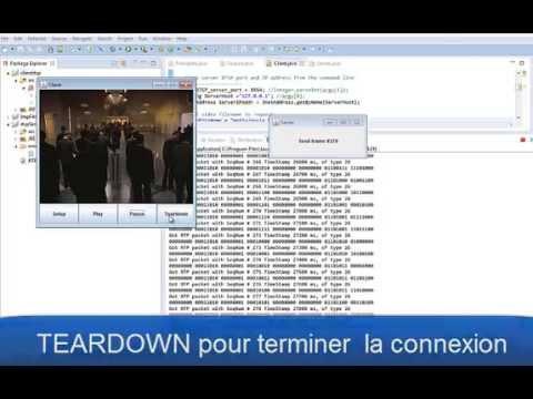 Extremely basic client et serveur de Streaming RTSP MJPEG (JAVA SE) -