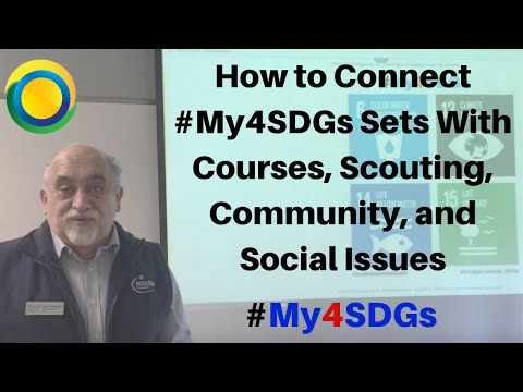 #Scouts4SDGs. How to Connect Global Management Courses with the Sustainable Development Goals / Scouter Dr. Jose G. Lepervanche / #My4SDGs #GLOBE4SDGs @ScoutmasterJose