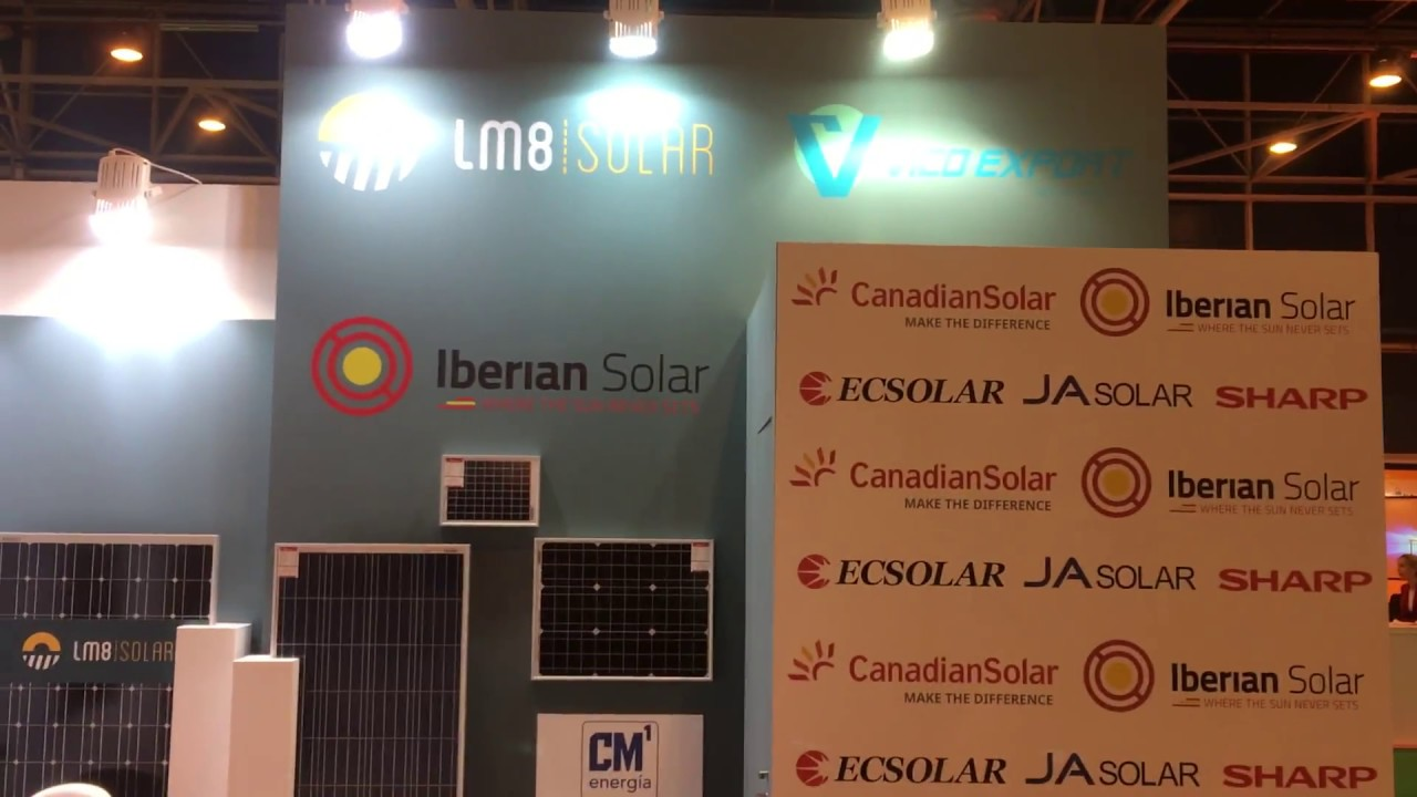 Vico export solar energy lm8 solar feria energ a solar genera 2017 madrid youtube - Energia solar madrid ...