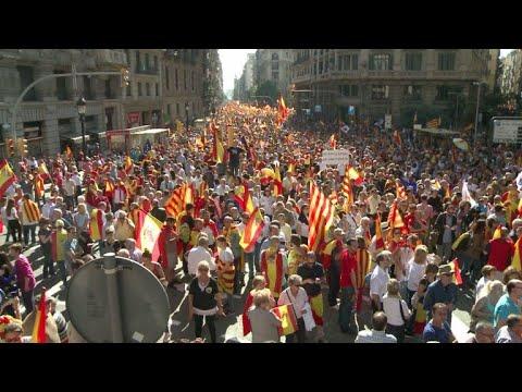 masiva-marcha-en-barcelona-contra-independencia-de-cataluña