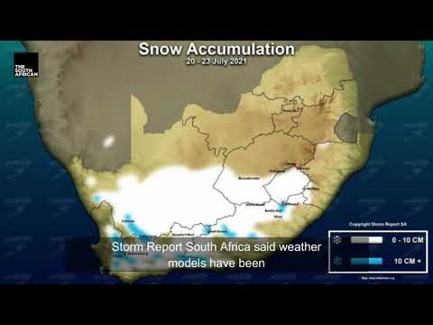 Snow and extreme weather in South Africa this week | NEWS IN A MINUTE