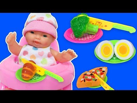 Oyuncak Bebek ile Bebek Bakma Oyunu | Bebek Oyunları | EvcilikTV