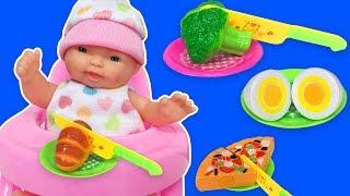 Oyuncak Bebek ile Bebek Bakma Oyunu   Bebek Oyunları   EvcilikTV