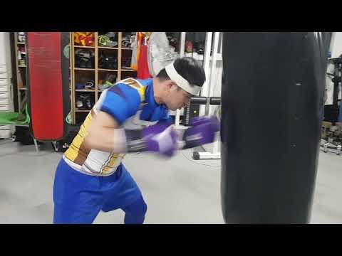 샌드백 안터지는게 신기!!! 프로복서 샌드백 파워!! boxing sandbag training!