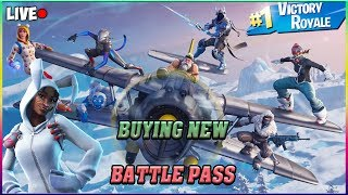 🔴LIVE FORTNITE  NEW YETI NEW SKINS NEW MAP AND MORE!! GRINDING HYPE