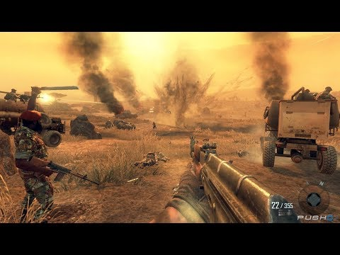 Bloody Battle in African Desert ! In Cool FPS Game Call of Duty Black Ops 2