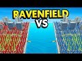 ATTACK TOWERS vs DEFEND TOWERS IN RAVENFIELD (Ravenfield Funny Gameplay)