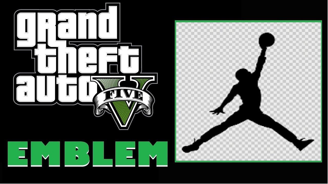 Grand Theft Auto 5 Gta 5 Gta V Jordan Jumpman Logo Emblem