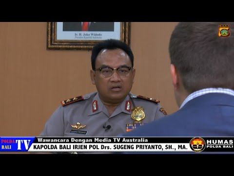 Chief of Bali Regional Police Interview with Australia Media TV