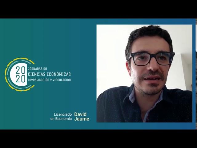 Egresados FCE -  David Jaume