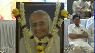 Prathna Sabha/Condolence meet of Pujya Bhaishri's Ba