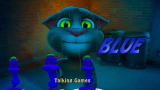 Talking Tom Cat Cartoon Game from Show Learn Colors with Talking Pato Baby Videos Game new