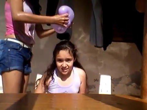 Desafio do balão de água