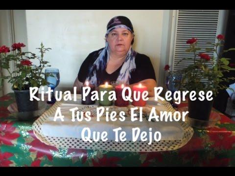 Ritual Para Que Regrese A Tus Pies El Amor Que Te Dejo!