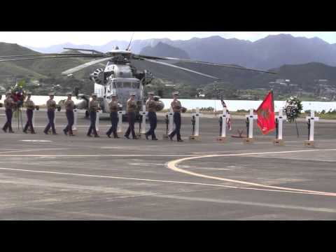FULL CEREMONY - HMH-463 Honors 12 Marines in Memorial Service