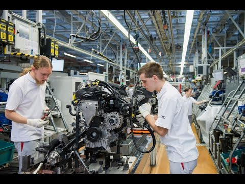 How Automotive Production Lines Work|  Audi Q3 Assembly