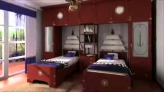Дизайн квартир, интерьера в морском стиле, Carot(Интернет магазин мебели из Италии от производителя, видео: http://MOBILI.ua ! Мы поможем Вам заказать и купить..., 2012-10-25T05:31:58.000Z)