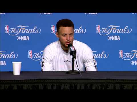 Stephen Curry FULL Interview Before Game 4 | Media Day Availability