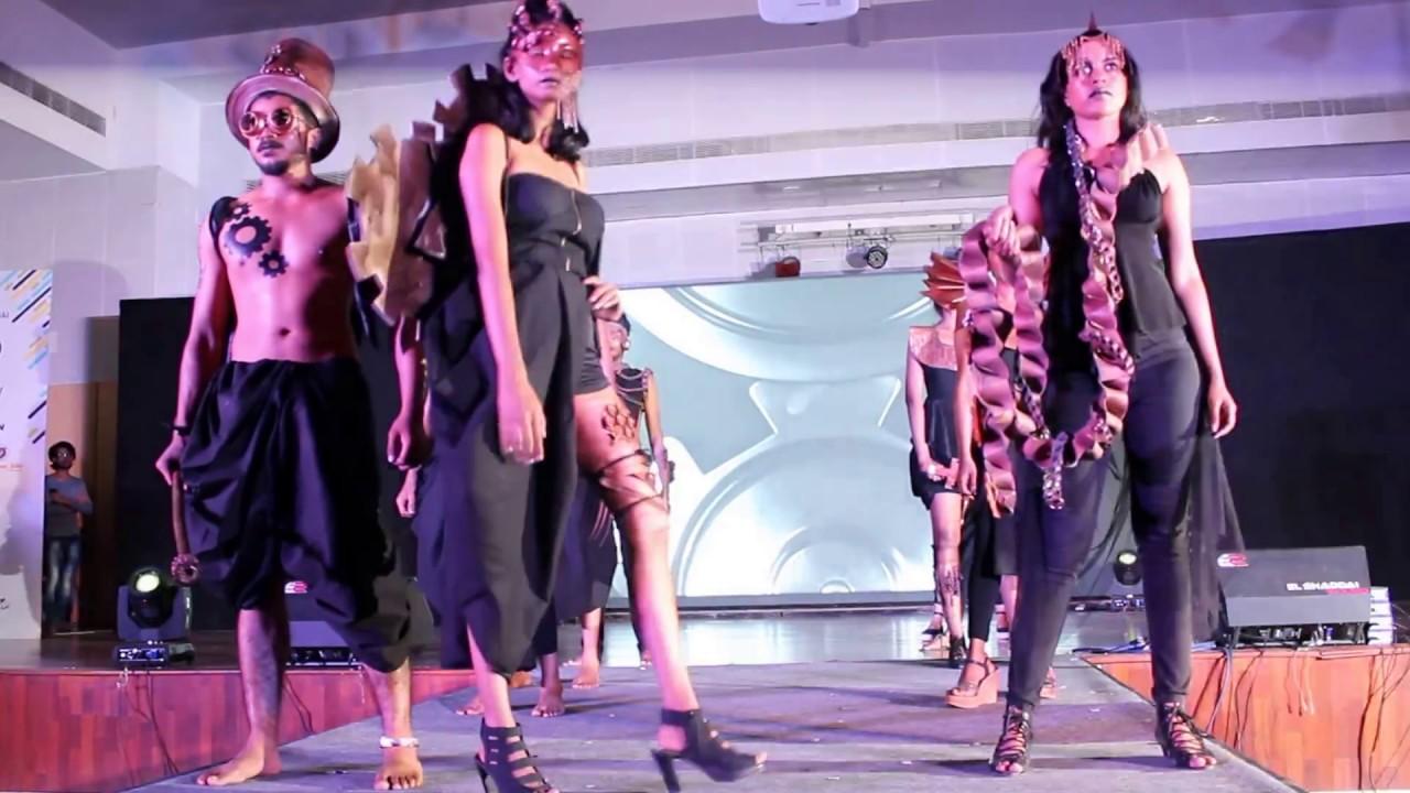 Nift Chennai Spectrum 2017 Accessory Design Fashion Show Youtube