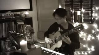 Gambar cover Ryuichi Sakamoto   |   Solitude  (Fingerstyle Guitar Arrangement by Ken Foo)