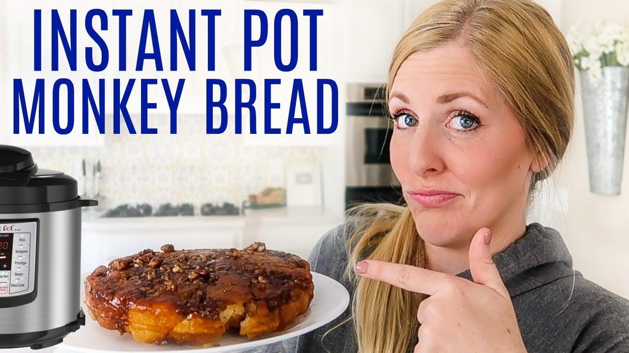 Instant Pot Sticky Monkey Pull Apart Bread Instant Pot Breakfast Idea Youtube