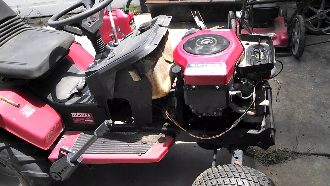 1995 Huskee Lawn Tractor It S Alive Youtube