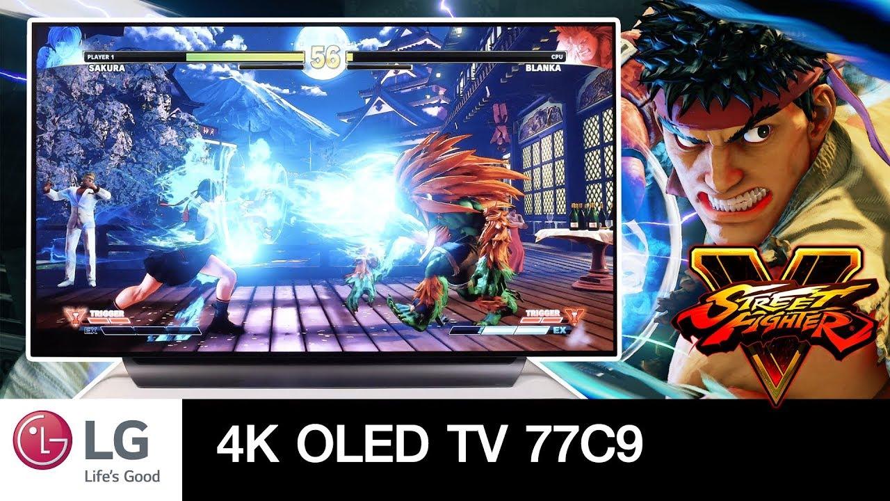 ทดสอบเล่นเกม Street Fighter กับ LG OLED TV C9 77 นิ้ว