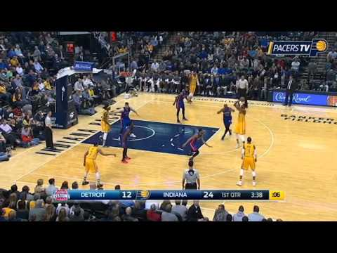 Rookie of the Month, Myles Turner Highlights - February 2016