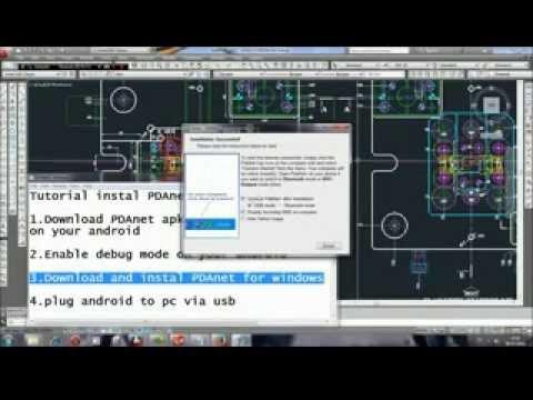 Tutorial Instal PDAnet in Windows