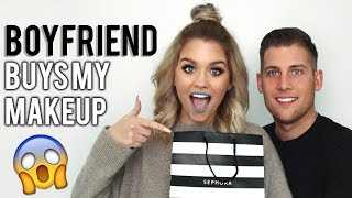 One of Samantha Ravndahl's most viewed videos: BOYFRIEND BUYS MY MAKEUP?!