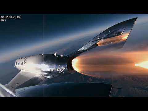 Woody and Wilcox - What It Will Look Like On Virgin Galactic Flights
