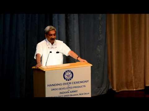 RM Manohar Parrikar Congratulates DRDO For Interceptor Missile Tests & Praises DRDO Products
