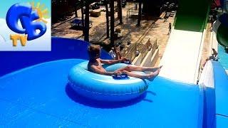 ⚽ VLOG Аквапарк с опасной горкой в Турции  ВЛОГ Waterpark with a dangerous slide in Turkey