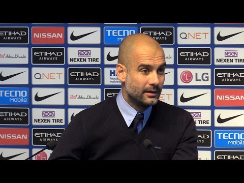 Manchester City 5-0 Crystal Palace - Pep Guardiola Post Match Press Conference - Embargo Extras