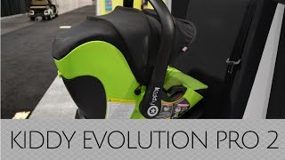 NEW! Kiddy Evolution Pro 2 Lay Flat Infant Car Seat - ABC Kids 2016(New for 2017, Kiddy will introduce an infant seat that will lay flat while you are driving. This is a GAME CHANGER! There has never been a seat that has been ..., 2016-10-21T21:30:07.000Z)