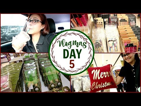 VLOGMAS DAY 5: CHRISTMAS GIFT IDEAS and SHOPPING (PHILIPPINES) -Via Austria