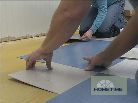 how to install vinyl composition tile
