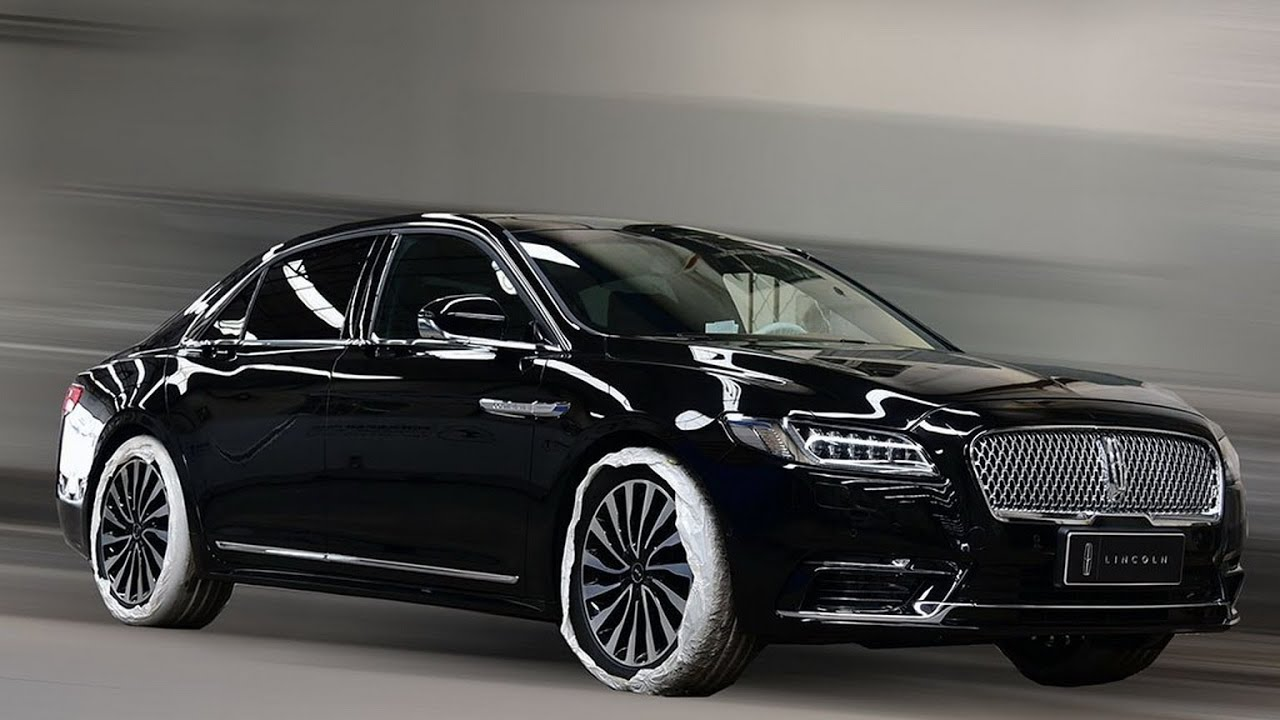 2017 lincoln continental presidential to debut at beijing. Black Bedroom Furniture Sets. Home Design Ideas