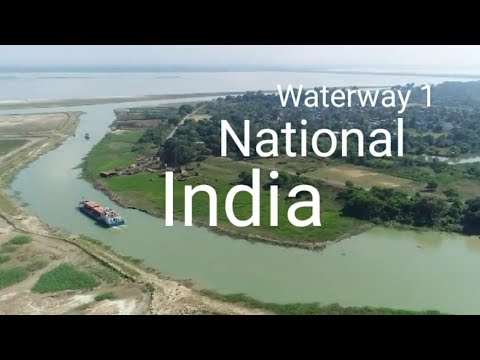 National waterway 1 of India: Highway on river