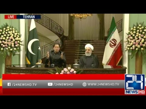 PM Imran Khan and Iran President Hassan Rouhani Press Conference