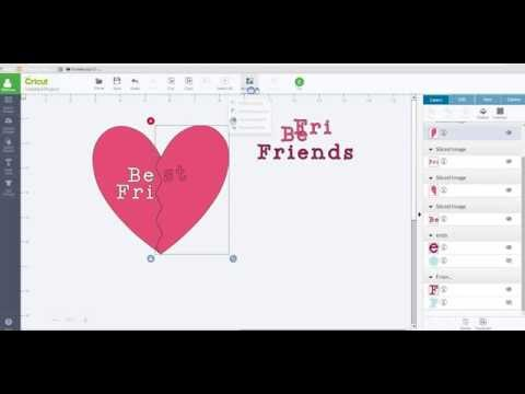 Slicing Text And Images - Cricut Design Space