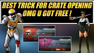 PUBG Mobile Best Trick For Crate Opening ! PUBG Mobile Premium Crate Opening