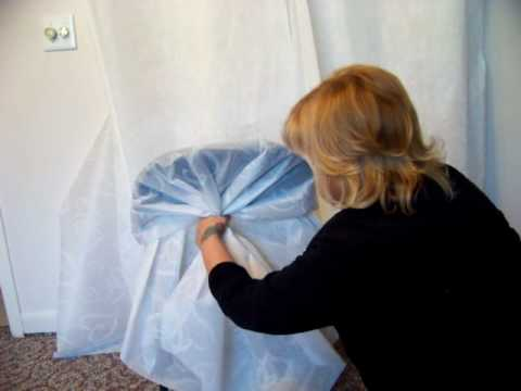 diy folding chair covers game chairs for kids charmingbows.com wedding covers. make & sell $$$$ home biz - youtube