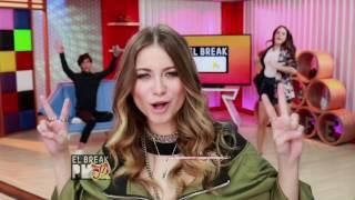 El Break PM JR - Sofía Reyes se enfrenta al Mouthguard Challenge