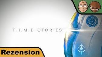 T.I.M.E Stories (nominiert zum Kennerspiel des Jahres 2016) - Brettspiel - Review - Spoilerfrei