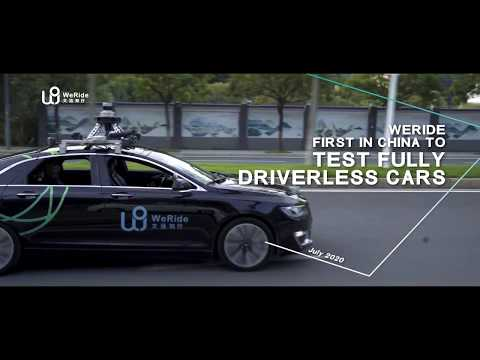 First in China   WeRide to Test Fully Driverless Cars